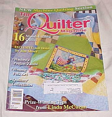 Read Online The Quilter Magazine July 2009 (16 Mood Lifting Quilts) Craft PDF