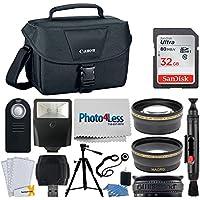 Canon EOS Bag 100ES + 32GB Memory Card + 58mm Telephoto &...