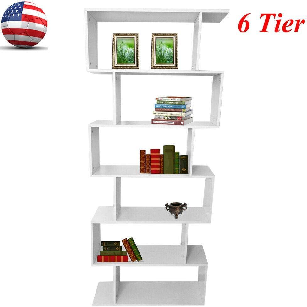 WLethan Estantería de Madera de 6 Pisos, Escalera de Libros, estantería, Muebles, hogar, Oficina: Amazon.es: Juguetes y juegos