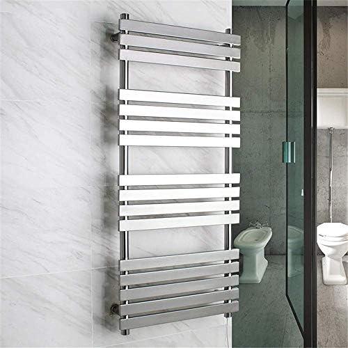 タオル掛け、加熱式タオル掛け壁掛け16バーステンレス鋼IP56防水急速加熱タオルドライヤー家庭用浴室付属品