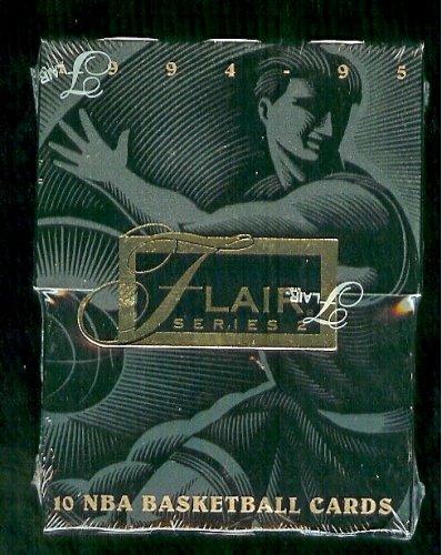 (1994 95 Fleer Flair Series 2 NBA Basketball Cards Unopened Hobby Pack (10 cards per pack) )