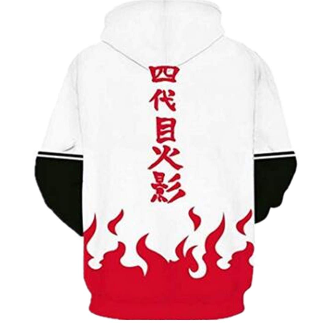 3D Printed Hoodies for Men and Women with Ninja Anime Graphic Hoodies