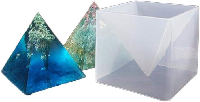 15cm  Pyramidenform DIY Harz Silikonform Handwerk Schmuckherstellung Gießform
