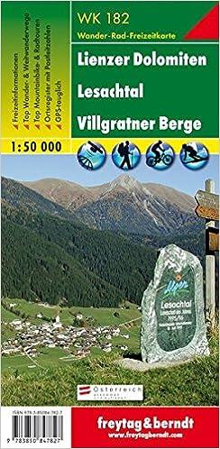 Téléchargements ebook gratuits pour kindle uk Carte de randonnée : Lienzer Dolomiten, Lesachtal in French PDF CHM ePub 3850847829