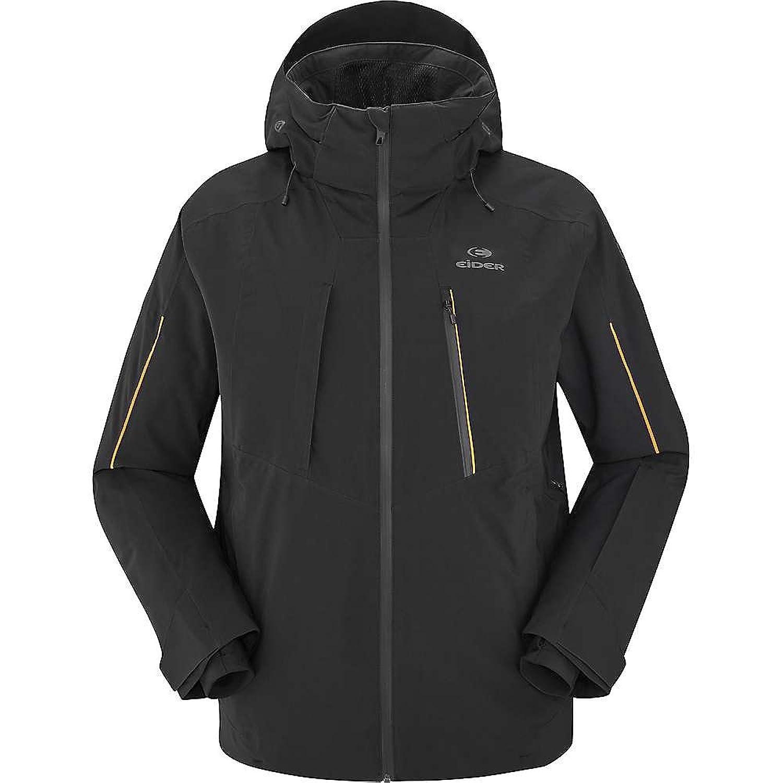 アイダー アウター ジャケットブルゾン Eider Men's Ridge Jacket Black n74 [並行輸入品] B077H418Q8  Large