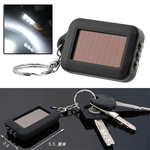 Springdoit - Mini Llavero Solar con Panel de energía y ...