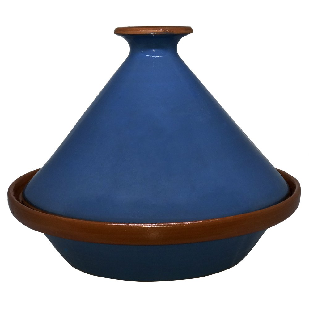 Tagine Cooking Pot Authentic Moroccan Handmade Clay Cooking 10 Quart Dish Family Size …