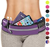 Belt Bag for Women: Waist Packs Best Running Fanny Pouch Waistband (Purple ) Phone Holder For Girls Ladies Moms Men Mothers Sisters Females EDC EDM Mom Mother Girl Lady Sister Aunty Aunt Auntie Gifts
