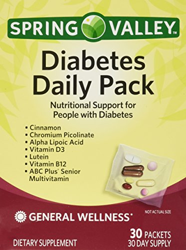 Spring Valley Diabetes Daily Pack