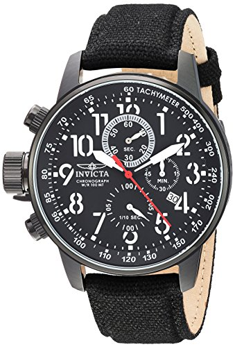 Invicta Men's 1517 I Force Collection Left-Handed Stainless Steel Watch with Cloth ()