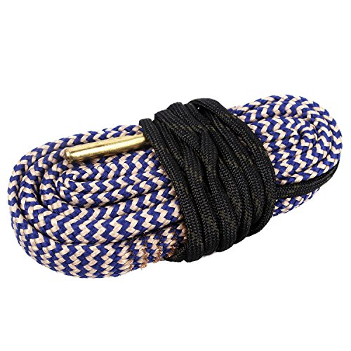 Unigear Gun Bore Cleaner Snake for Rifle Pisto Shotgun (.338 Cal .340)
