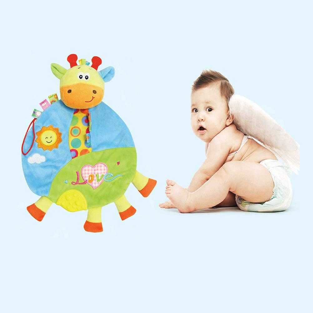 TOYANDONA Doudou de Beb/és de Ciervos Manta de Peluche para Reci/én Nacidos Beb/és