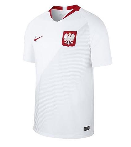 56cb3d97b Nike 2018-2019 Poland Home Football Soccer T-Shirt Jersey (Kids)