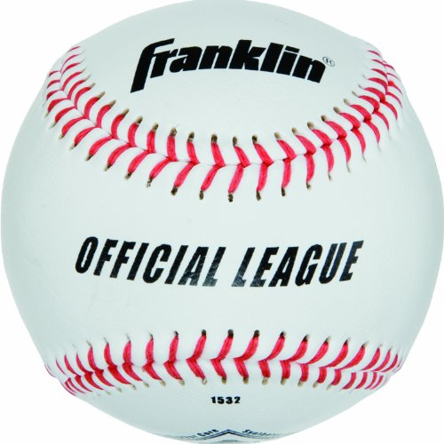 Franklin Little League Baseball (Franklin Sports MLB Official League Synthetic Cover Practice Baseball)