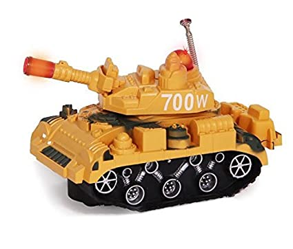 0bc75c94a33dda Image Unavailable. Image not available for. Color  Kids Military Fighter  Tank Toy Truck Battery Operated ...
