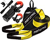 motormic Tow Strap Recovery Kit - 30 ft x 3
