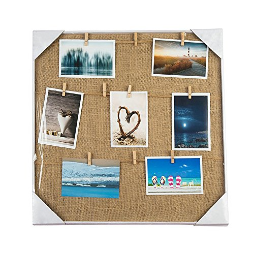 Photo Display Hanging Picture Frame of 12 Photos-show the Sweetest of Your Family