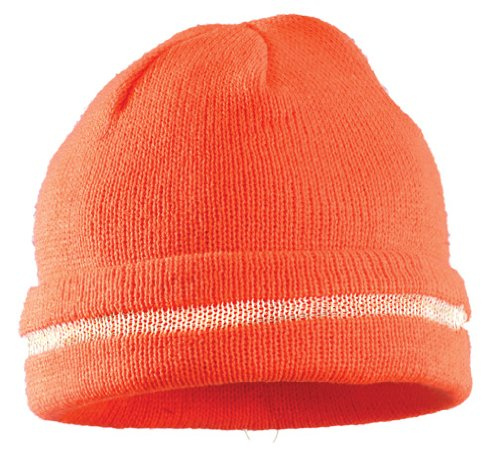 Knit Silver Reflective Stripe Orange