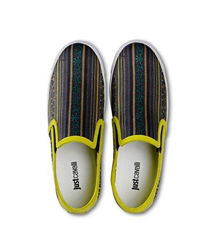 ... Just Cavalli Kvinners Multi-farge Slip På Loafers Sko Oss Ni Det 39 ...