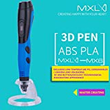 Amyove Kids 3D Drawing Printing Pen Portable Doodle Pen Arts and Crafts Tool Kids Gift