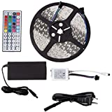MARQ BrightStrip 5-300S | UL-Certified 5 Meter Flexible Light Strip with 300 Multi-Color LEDs, Timer Function,...