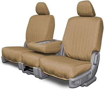 Beige Neo-Sport Custom Seat Covers for Ford F-250-550 Front 40-20-40 Seats