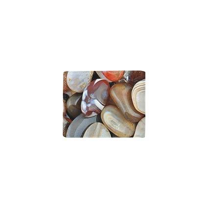 Naturaleza Pulido Piedras de Colores Tarjeta de Visita Lether Monedero de identificación Bolsas Bolsillo Embrague Monedero Clip Billetera Estuche niñas Hombres y Mujeres Bolsillo Delantero Bolsillo: Amazon.es: Equipaje