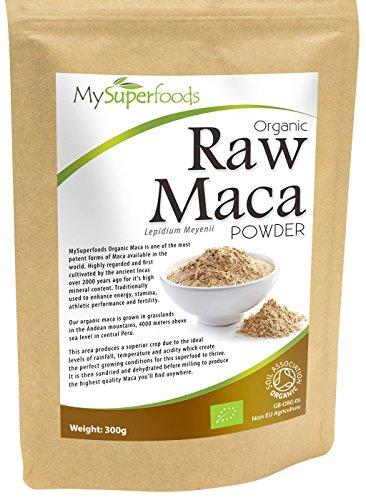 Bio Maca-Pulver (300g) | Höchste Qualität | Von MySuperfoods