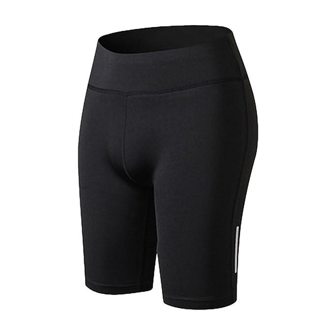 YiJeee Mujeres Secado rápido Fitness Pantalones Cortos para Gym Yoga Jogging