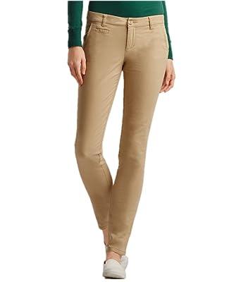 a0a8f68620dc Aeropostale Womens Skinny Khaki Pants at Amazon Women's Clothing store: