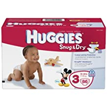 Huggies Snug and Dry Diapers, Step 3, 86 Count