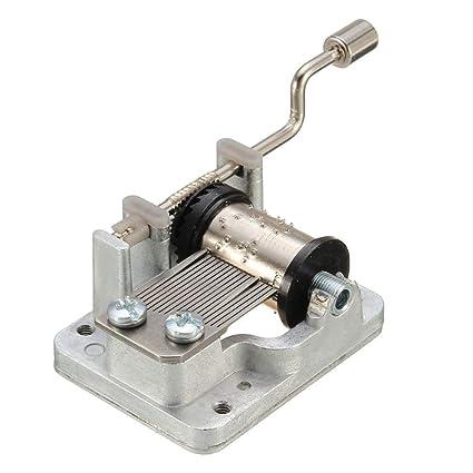 1 pieza manivela de mano mecanismo musical manualidades DIY caja de música Movimiento, 5 tipos