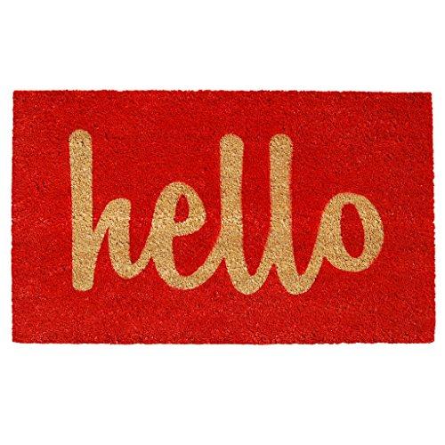 home-more-red-natural-script-hello-doormat-2-x-3