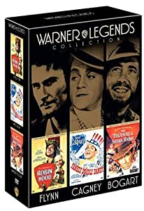 Warner Legends Collection: Robin Hood/Yankee Doodle Dandy/Treasure of the Sierra Madre