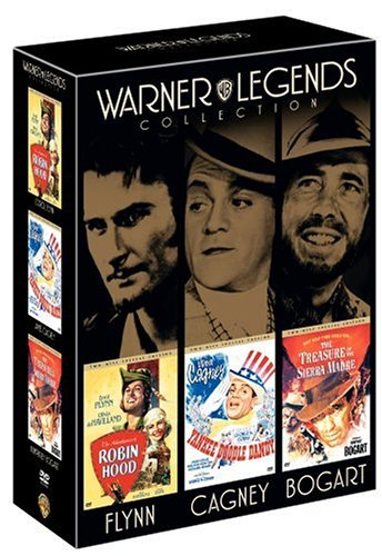 Warner Legends Collection (The Adventures of Robin Hood / Yankee Doodle Dandy / The Treasure of the Sierra Madre / Here's Looking at You, Warner Bros.) - Two-Disc Special Edition by Unknown