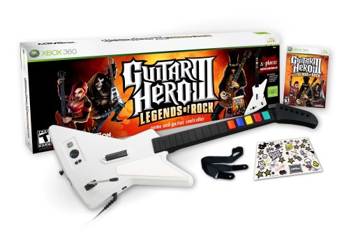 Guitar Hero III Legends of Rock Wired Bundle -Xbox 360