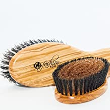 Dog Fashion Spa Bronze Ionic Positive Charge Grooming Brush for Dogs with Short Coats by Dog Fashion Spa