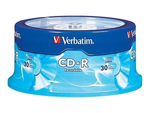 Verbatim CD-R - 30-Pack Spindle VERBATIM CORPORATION 2619494