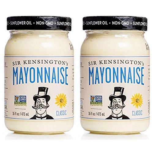 Sir Kensington's Mayonnaise, Classic, 16 oz, 2 Pack