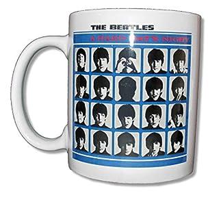 "The Beatles ""Hard Day's Night"" White Ceramic Collectible Coffee Mug (B00S8DIEJA) | Amazon price tracker / tracking, Amazon price history charts, Amazon price watches, Amazon price drop alerts"