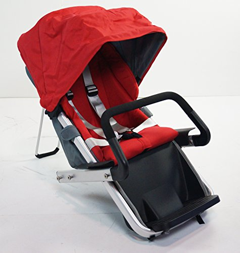 Red Family Stroller Bike for Children 6 Months to 5 Years of Age MCB-01S ALU by USA-MEGASTORE (Image #1)