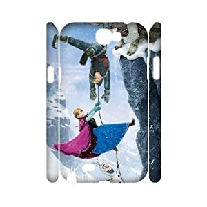 huyny diy C-EUR Frozen Customized Hard 3D Case For Samsung Galaxy Note 2 N7100