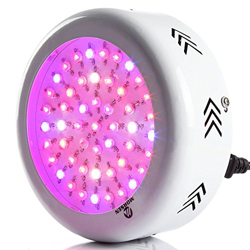 Morsen Full Spectrum UFO Led Grow Light 150W for Plant Growing Germinating Flowing Seeding