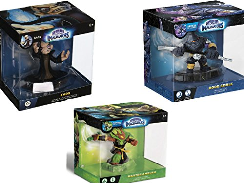 Skylanders Imaginators 3 Pack: Kaos, Hood Sickle and Master Ambush - not machine specific
