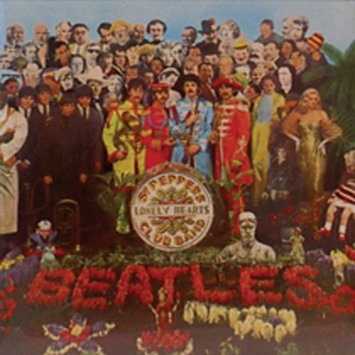 (Beatles Sgt. Pepper fridge magnet. 3