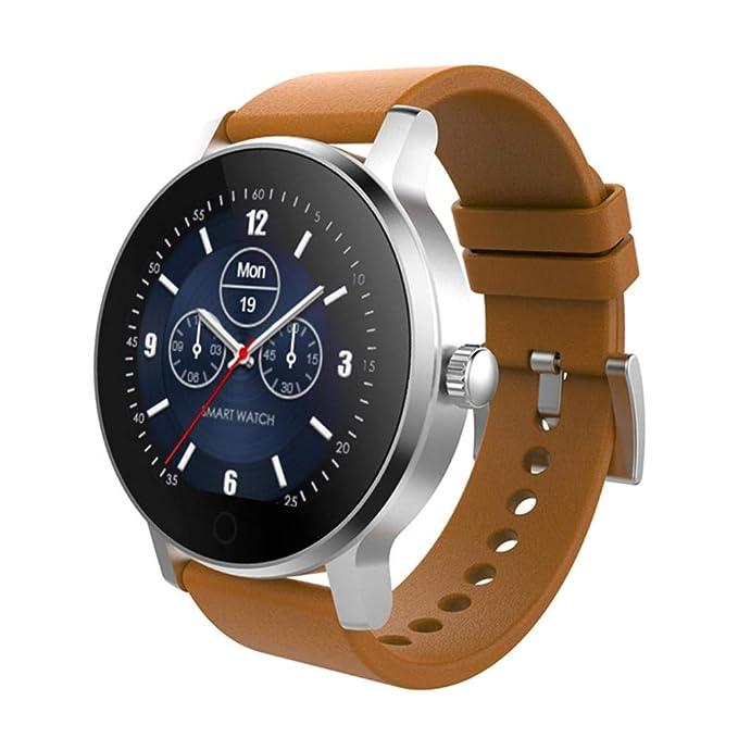 Montre Connectée, Bluetooth Smartwatch étanche IP54, Avec Ecran Tactile Sport Pédomètre Moniteur De Sommeil Bracelet pour Apple iPhone Samsung Sony IOS et ...