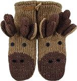 DeLux Moose Wool Animal Mittens [Apparel] [Apparel]