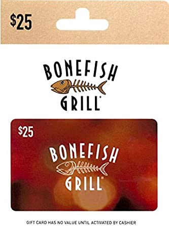 Amazon.com: Bonefish Grill Gift Card $25: Gift Cards