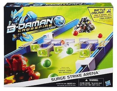 b daman crossfire surge strike arena or vertigo spin arena