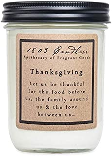 product image for 1803 Candles - 14 oz. Jar Soy Candles - (Thanksgiving)